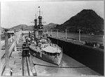 U.S.S. Arizona in lock, Panama.jpg
