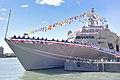 U.S. Navy Commissions Littoral Combat Ship USS Detroit (LCS 7) (30380565082).jpg