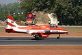 U2512 HAL HJT-16 Kiran Indian Air Force ( Surya Kiran Aerobatic Team ) (8413506335).jpg