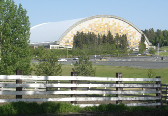 Kibbie Dome - Kibbie Dome from the far west in 2007
