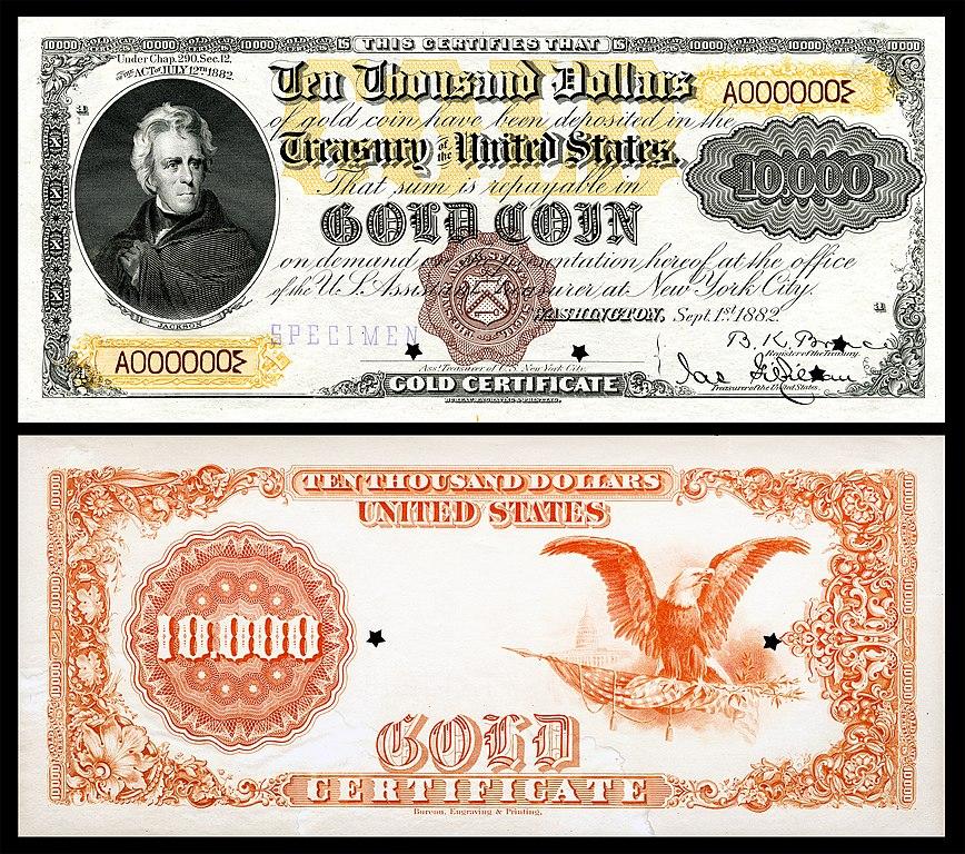 File:US-$10000-GC-1882-Fr-1223a.jpg - Wikipedia