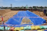USAID Dioxin Contamination Project Progress Containment Structure (9365431128).jpg
