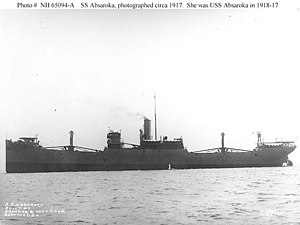 Probably photographed upon completion of construction, circa 1917.USN Photograph NH 65094-A