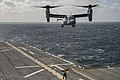 USS America conducts flight operations. (14925389691).jpg