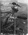 USS Arizona; View from main mast. Bow projecting from water- forward (FCP), 05-18-1942 (5237615643).jpg