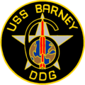 USS Barney (DDG-6) insignia, in 1962 (NH 69530-KN).png