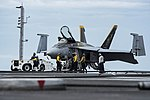USS Dwight D. Eisenhower conducts a flight operation. (35842396346).jpg