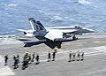 USS Dwight D. Eisenhower conducts flight operations. (8634867491).jpg