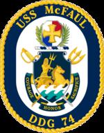 USS McFaul DDG-74 Crest