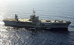 USS Mount Whitney (LCC-20) underway in the Med in 2013.JPG