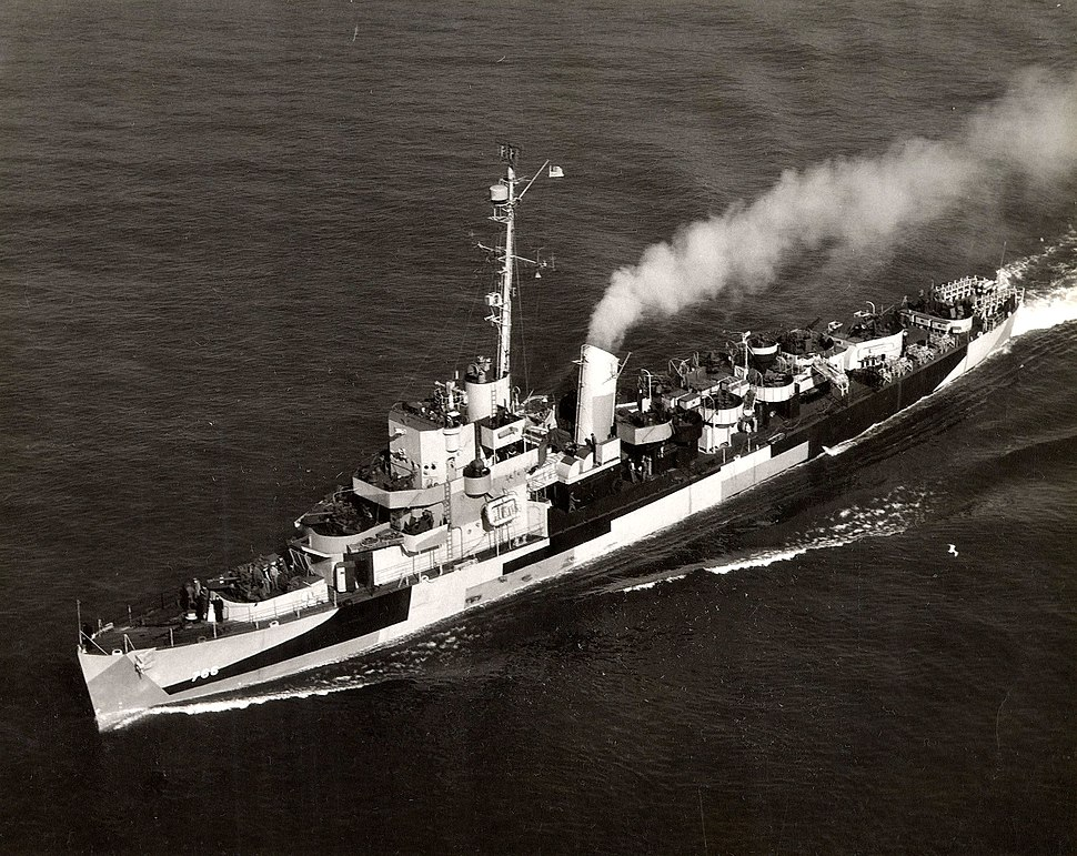 USS SLATER DE-766 during WWII