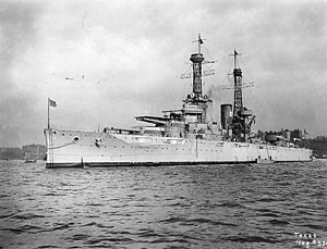 USS Texas (BB-35) Off New York City, circa 1919.