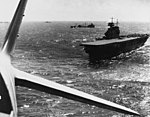 USS Yorktown (CV-5) during the Battle of the Coral Sea, April 1942.jpg