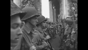 File:US 28th Division Parades in Paris, France.webm