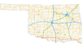 US 70 (Oklahoma) map.png