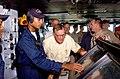 US Navy 020827-N-1058W-069 Former U.S. President George H. W. Bush aboard USS Harry S. Truman (CVN 75).jpg