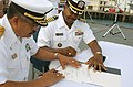 US Navy 021209-N-5812W-002 transfer ceremony of USS Frederick (LST 1184).jpg