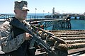 US Navy 040426-N-9885M-005 A U.S. Marine stands security watch on the deck of the Al Basrah Oil Terminal (ABOT).jpg