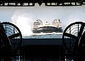US Navy 050110-N-5313A-040 A Landing Craft Air Cushion (LCAC), assigned to Assault Craft Unit Four (ACU-4), prepares to enter the well deck.jpg
