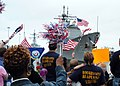 US Navy 070404-N-5055G-020 Families welcome home Sailors aboard the Ticonderoga-class cruiser USS Monterey (CG 61) at Naval Station Norfolk.jpg