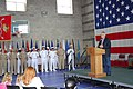 US Navy 070505-N-9599T-001 Colorado Gov. Bill Ritter speaks to Sailors attached to the Navy Operational Support Center (NOSC) Denver and congratulates those Sailors who recently returned from a deployment in support of the glob.jpg