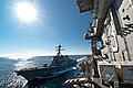 US Navy 101205-N-1783P-024 The guided-missile destroyer USS John McCain (DDG 56) pulls alongside the aircraft carrier USS George Washington (CVN 73.jpg