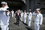 US ambassador to France visits USS Harry S. Truman 130806-N-ZM349-003.jpg