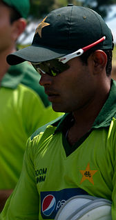 Umar Akmal Pakistani cricketer