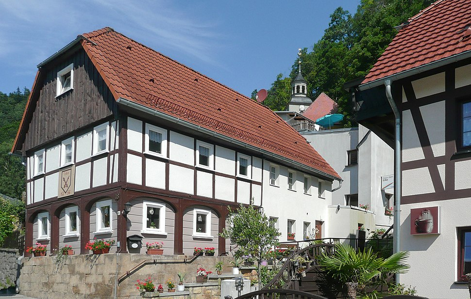 Umgebindehaus in Oybin 2