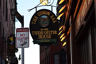Union Oyster House - Image: Union Oyster House