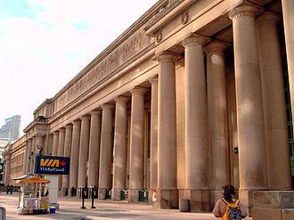Ross and Macdonald - Image: Union Station, Toronto