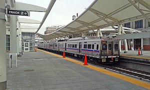FasTracks - RTD Silverliner at Denver Union Station.