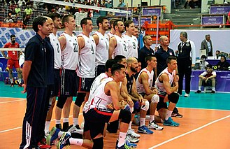 United States men's national volleyball team - United States national volleyball team in World League 2015