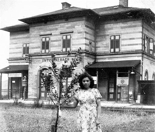 Unterbalbach 1950