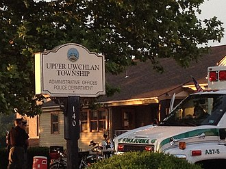 Upper Uwchlan Township, Chester County, Pennsylvania - Upper Uwchlan Township offices in Eagle