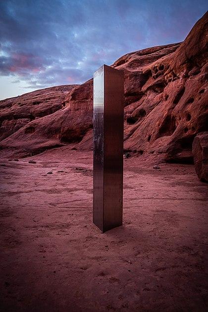 Utah Monolith.