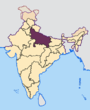 Uttar Pradesh in India.png