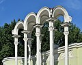 VDNKh Decorative portico of Pavilion No 8 Young Naturalists.jpg