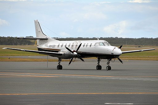 VH-OZV Fairchild SA-227AC Metro III Brindabella Airlines (6601683025)