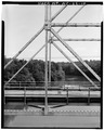 VIEW OF TRUSS PIN JOINT - McGirt's Bridge, Spanning Cape Fear River, Elizabethtown, Bladen County, NC HAER NC,9-ELITO.V,1-10.tif