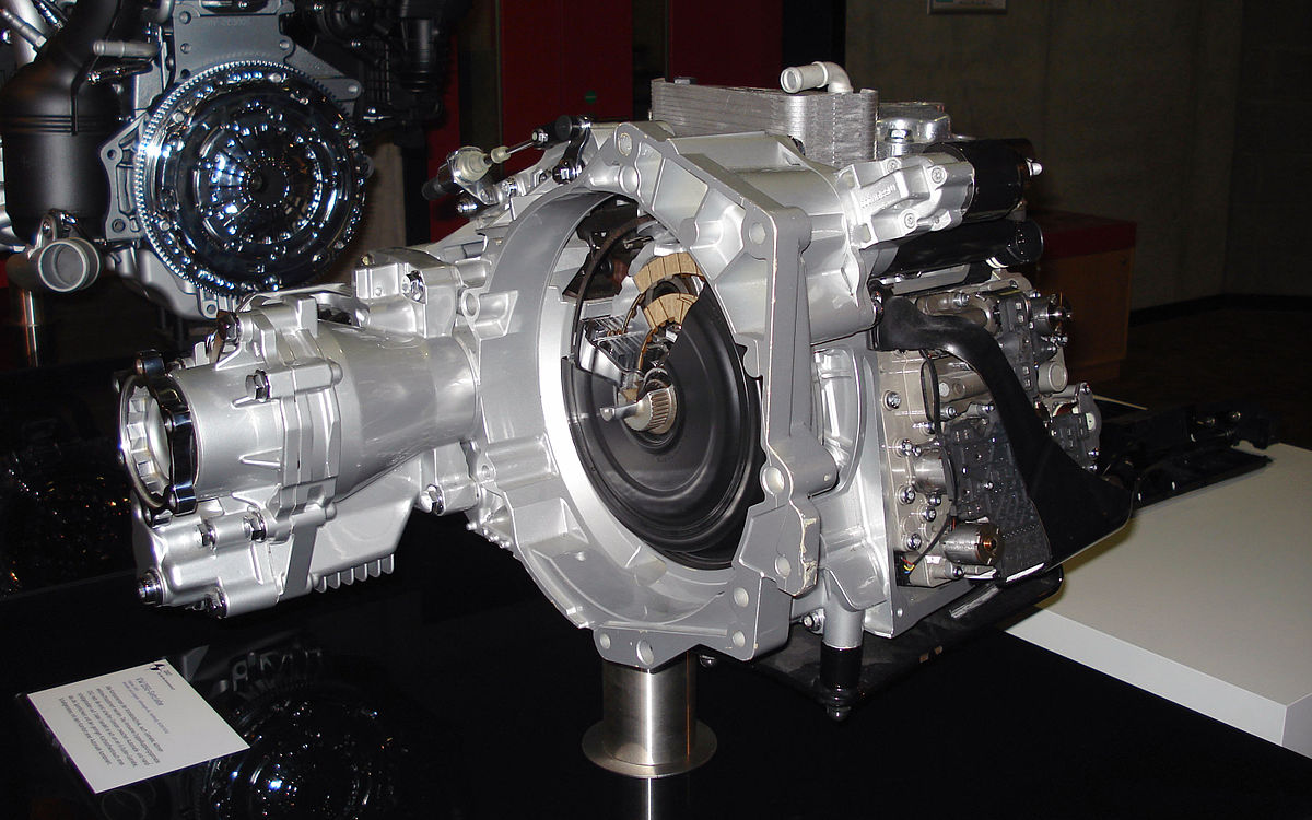 direct-shift gearbox