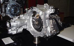 Direct-shift gearbox - Image: VW DSG transmission DTMB