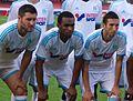Valais Cup 2013 - OM-FC Porto 13-07-2013 - Gignac, Abdullah, Amalfitano.jpg