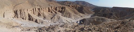 Valley of the Kings panorama