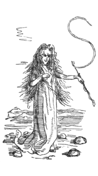 Original drawing of Becky as Circe