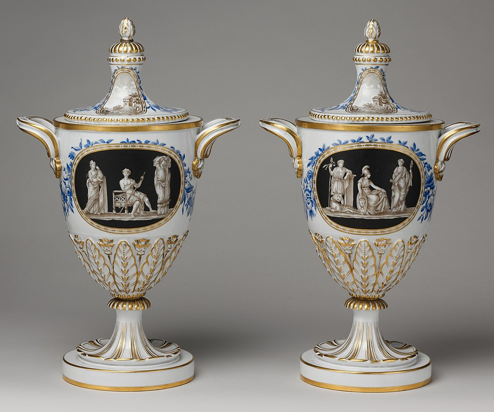 Vase with cover (one of a pair) MET DP103165 (cropped)