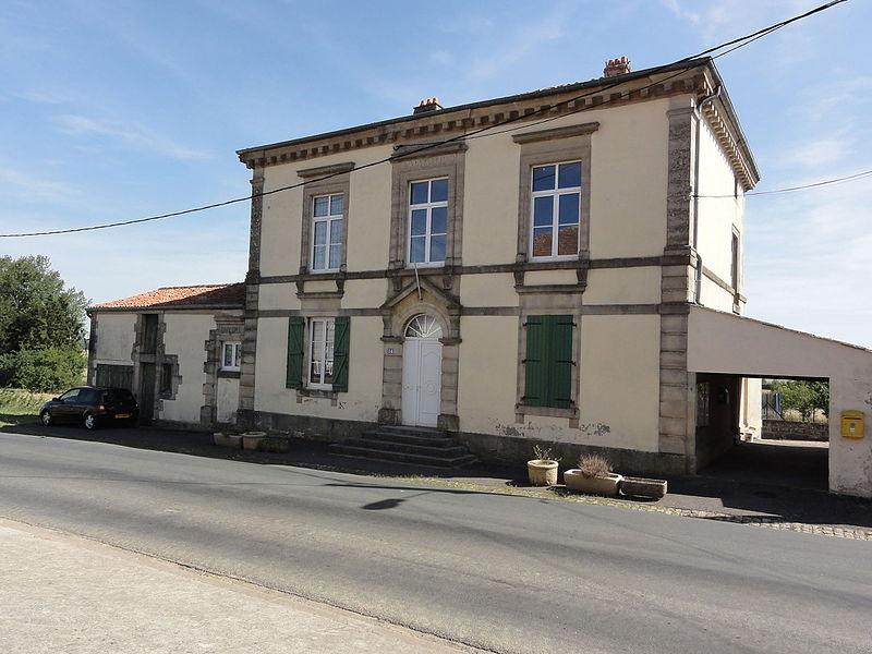 Vaudoncourt (Meuse) mairie-école