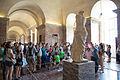 Venus de Milo crowd at the Louvre.jpg