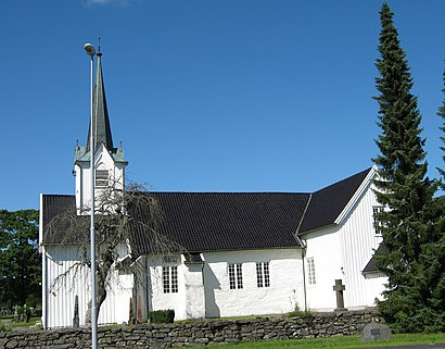 How to get to Vestre Moland Kirke with public transit - About the place