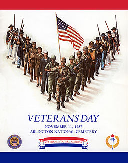 Veterans Day Poster 1987